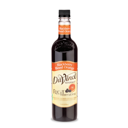 DaVinci Gourmet Fruit Innovations Syrup, Blackberry Blood Orange, 750ml
