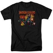 Judge Dredd - Through Fire - Short Sleeve Shirt - X-Large