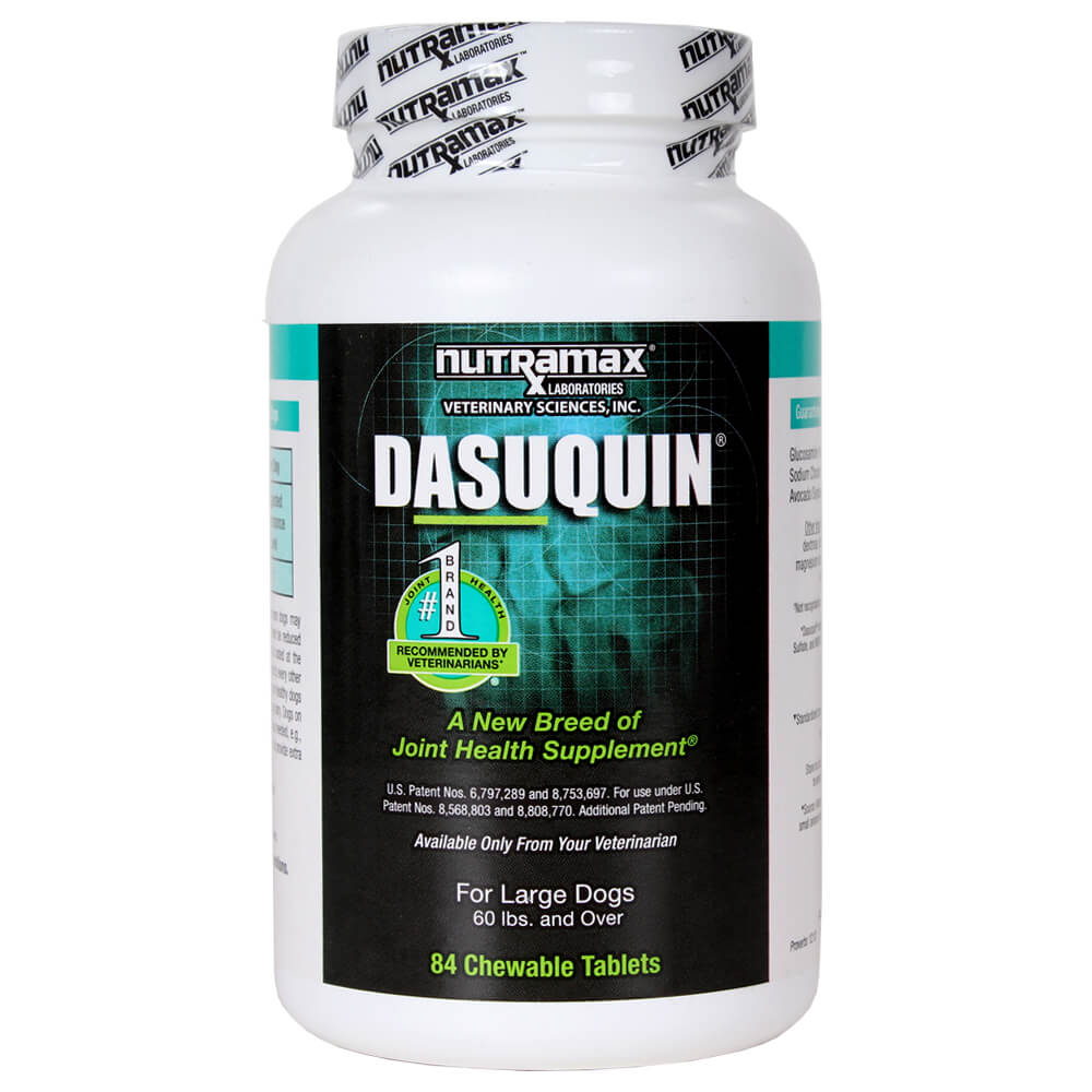 Nutramax Dasuquin Joint Health Large Dog Supplement, 84 Tablets