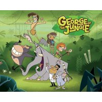 George of the Jungle George Ape Ursula Edible Cake Topper Image ABPID00086V1