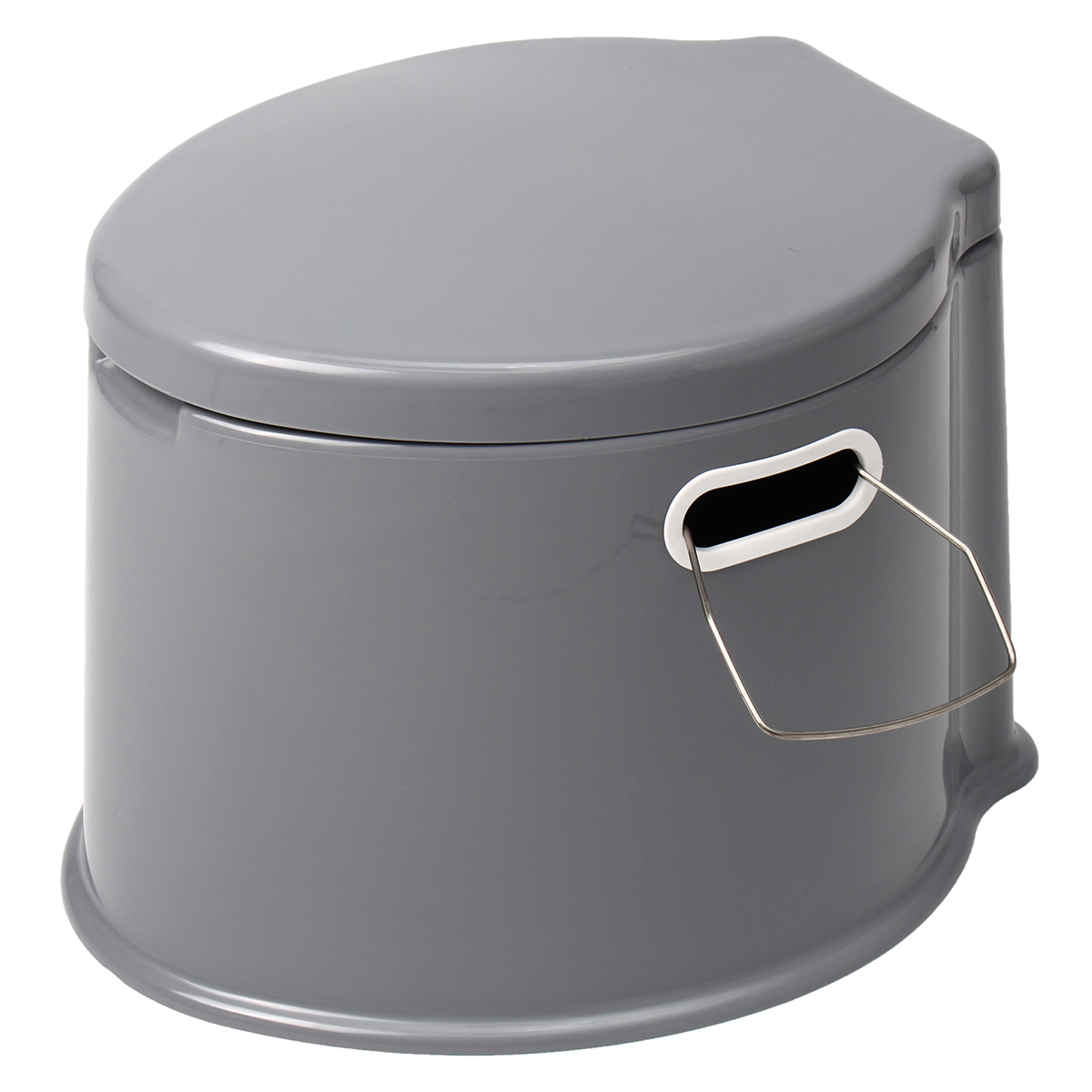 Meigar Large Portable Toilet Potty Bedside Commode for Adults The Elderly Travel Camping Hiking Outdoor Indoor