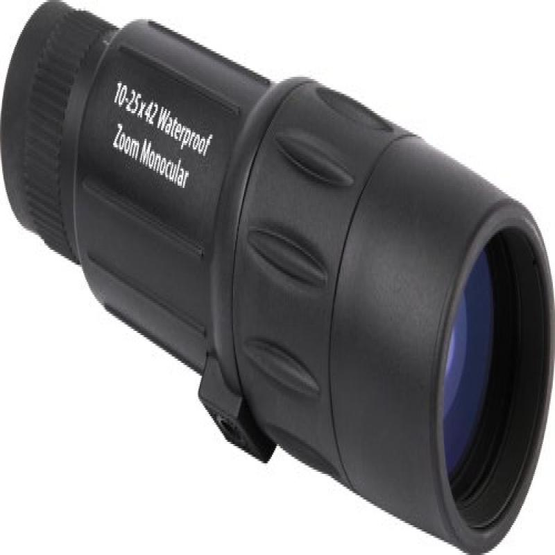 Orion 10-25x42 Zoom Waterproof Monocular (Black) by Orion Telescopes & Binoculars