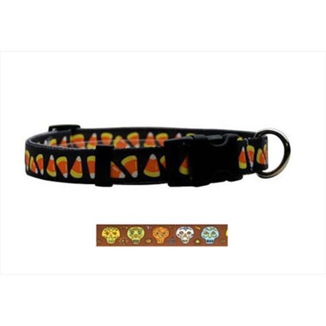 Yellow Dog Design CSK103L Candy Skulls Standard Collar - Large