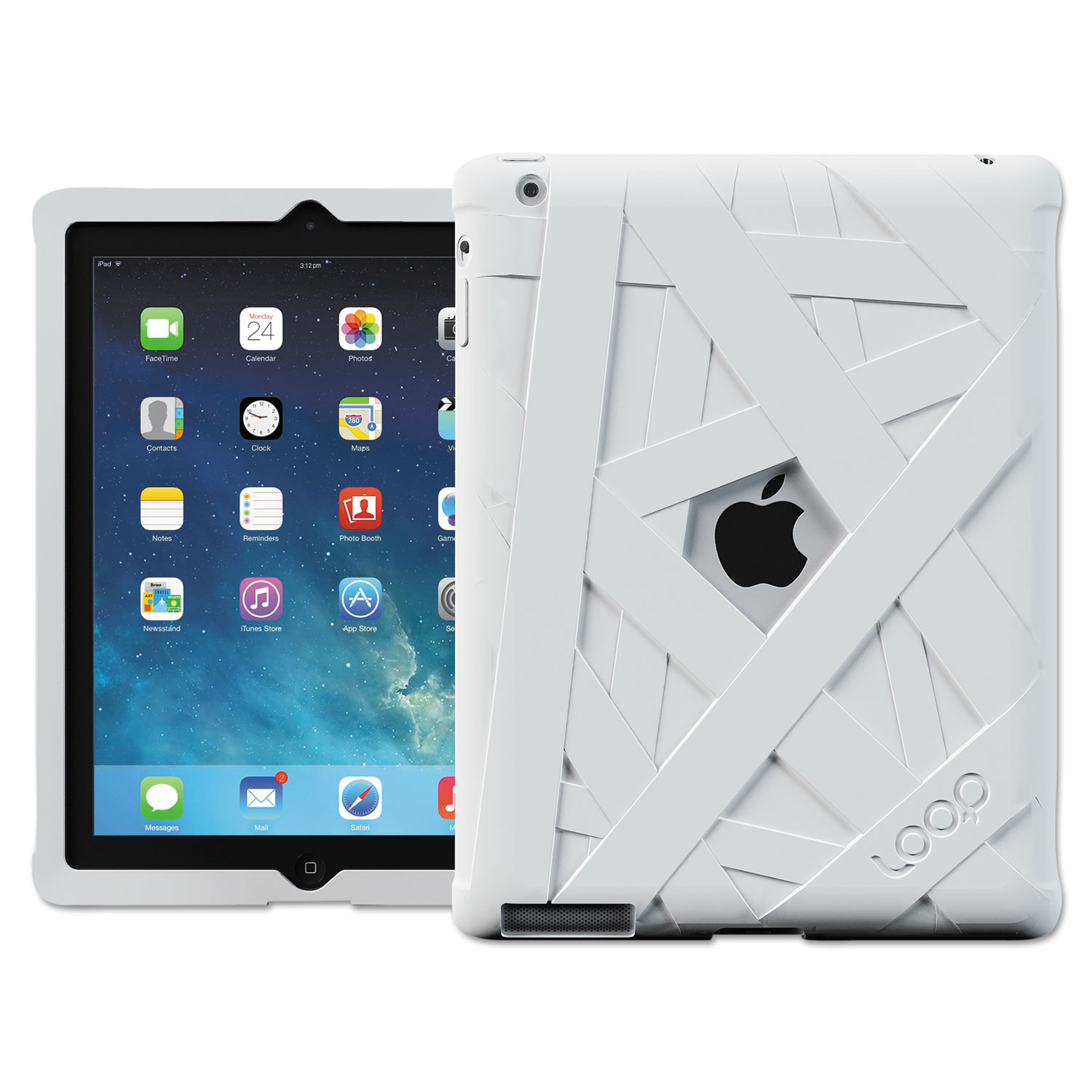 Mummy Case for iPad 4th Gen, White