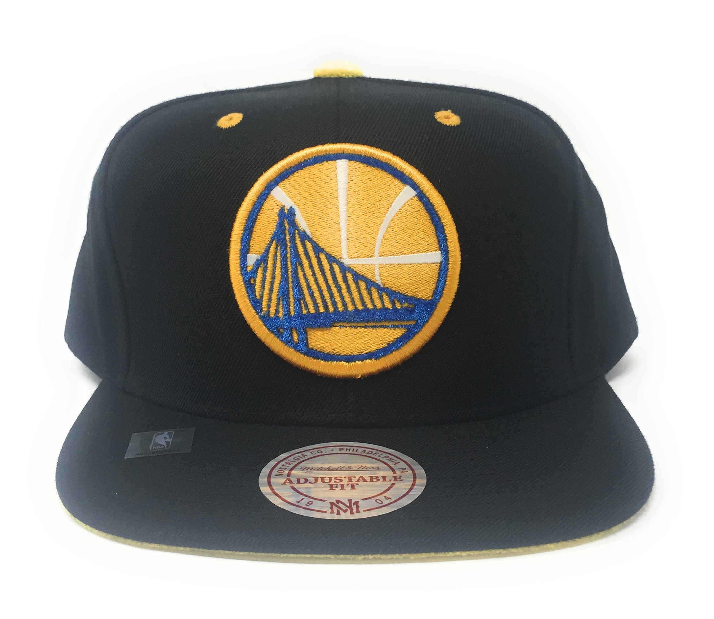 Mitchell and Ness Golden State Warriors Velour Black Yellow ... 2851c9c627d4
