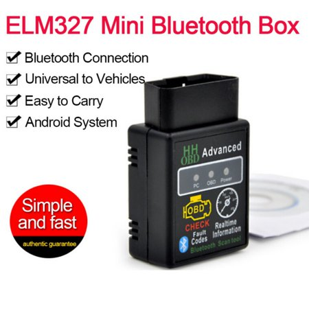 Supersellers for OBD2 ELM327 V2.1 Bluetooth Car Scanner Android Torque Auto Diagnostic