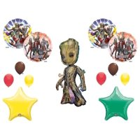 GROOT GUARDIANS OF THE GALAXY BIRTHDAY PARTY Balloons Decorations Supplies