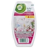 Air Wick Room Air Freshener Activ' Gel, Magnolia & Cherry Blossom, 4.0 oz.