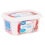 Great Value Strawberry Cream Cheese Spread, 8 oz