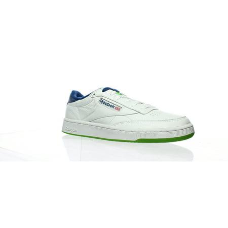 Reebok Mens Club C 85 Mu White Fashion Sneaker Size