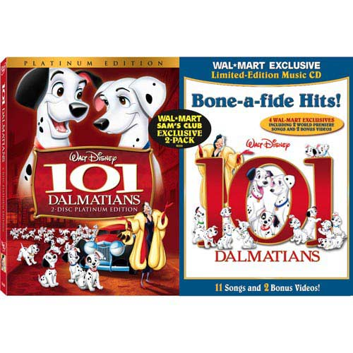 101 Dalmations (Animation)  (Exclusive) 2-Pack