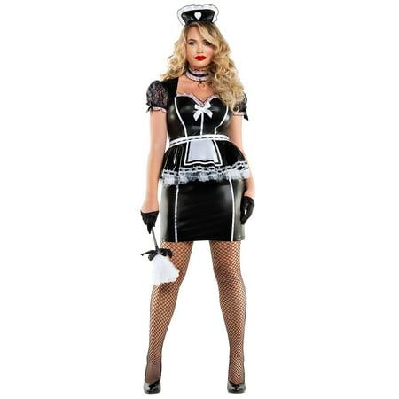 Plus Size Mistress Maid Costume, Plus Size Maid - Mistress Maid Costume