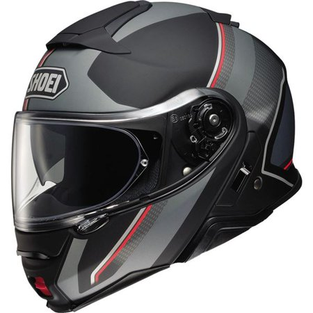 Shoei Neotec II Excursion Modular Helmet - Matte Grey/Blk, All Sizes