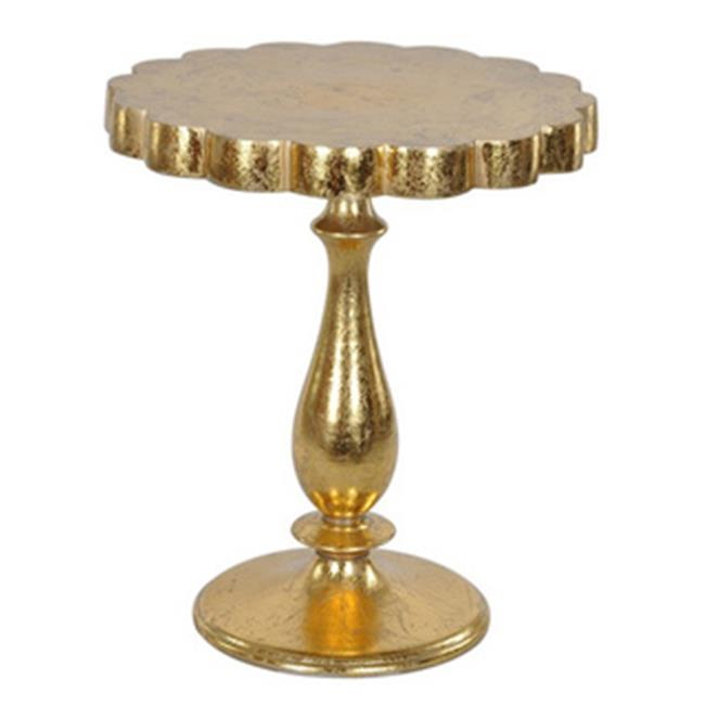 Lyric Occasional Side Table Gold Leaf