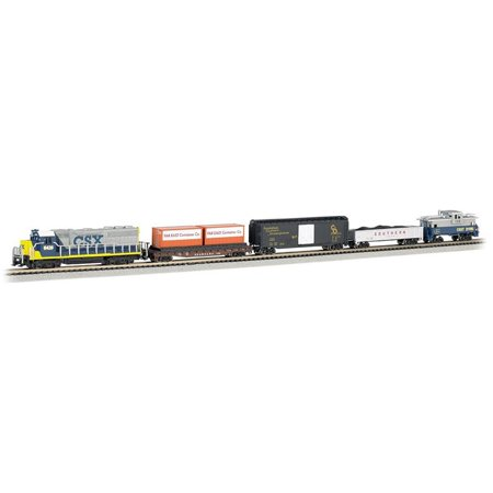 - Bachmann Trains Freightmaster N Scale Ready-to-Run Electric Train Set