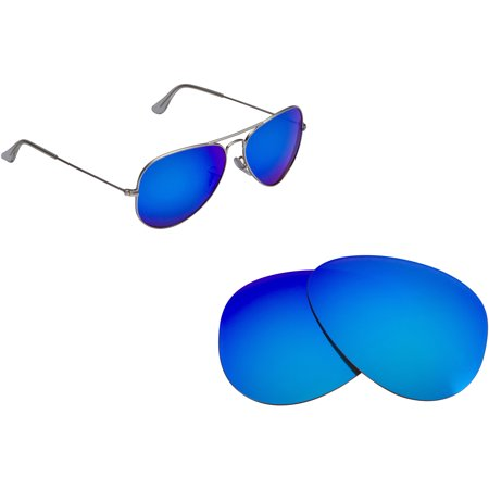 New SEEK Polarized Replacement Lenses for Ray Ban 3025 58mm AVIATOR - Multi Opt ()