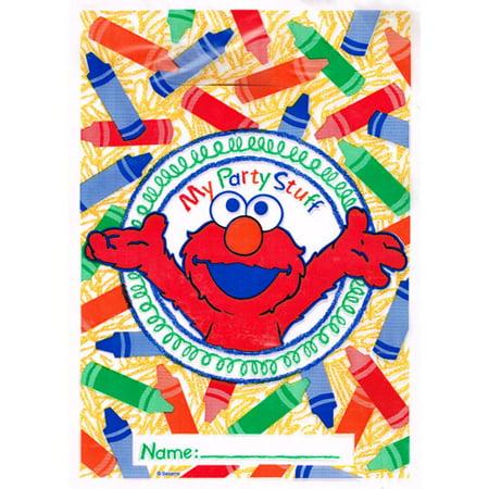 Sesame Street Elmo's World Favor Bags (8ct) - Elmo Party Bags