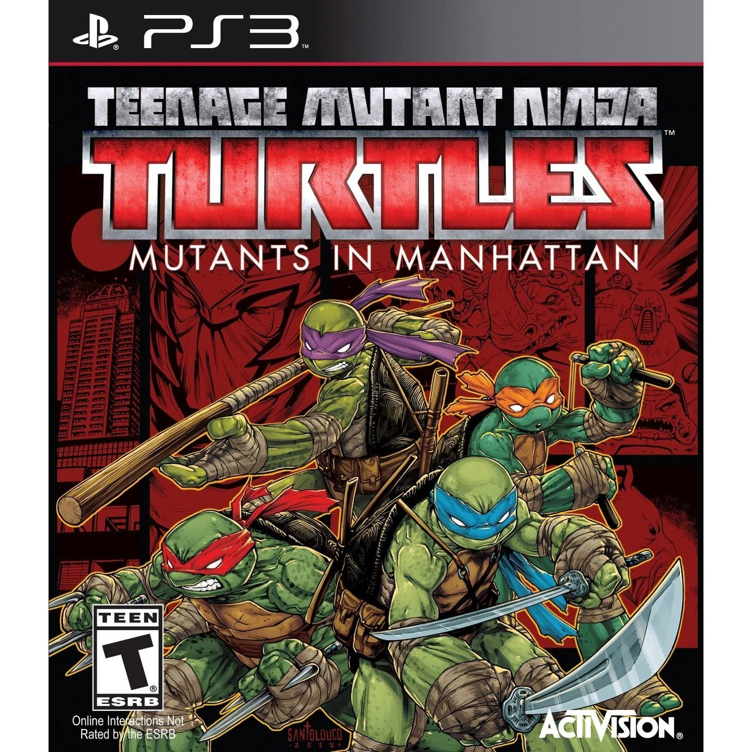Teenage Mutant Ninja Turtles: Mutants in Manhattan (PS3)