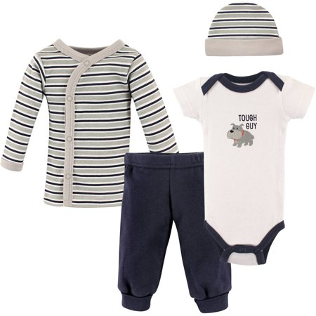 - Luvable Friends Newborn Baby Boy Preemie Layette Set, 4-Piece