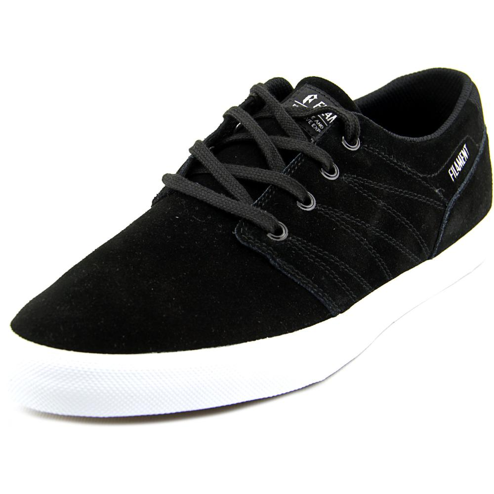Filament Spector Men  Round Toe Suede Black Skate Shoe