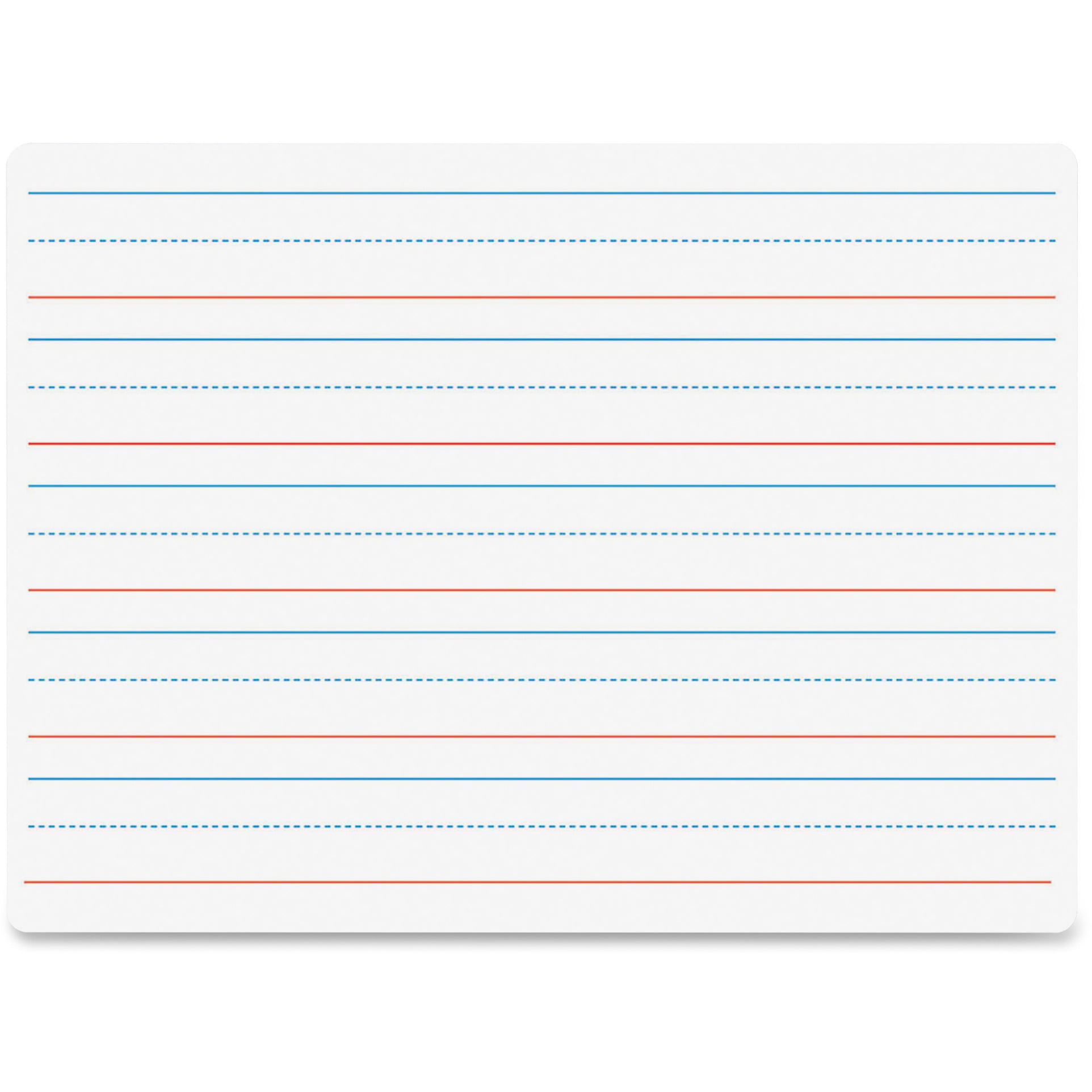 Flipside Double-sided Dry Erase Board, 1 Each (Quantity) by Flipside Products, Inc
