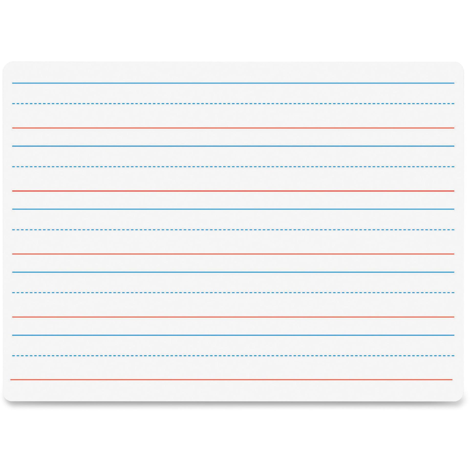 Flipside, FLP10034, Double-sided Dry Erase Board, 1 Each