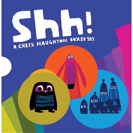 Shh!: A Chris Haughton Boxed Set (Board Book)