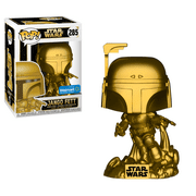 Funko POP Star Wars: Jango Fett (Gold Metallic) - Walmart Exclusive
