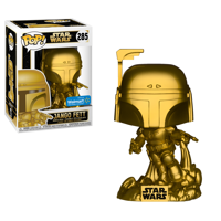 Funko POP Star Wars: Jango Fett (Gold Metallic) - Walmart Exclusive