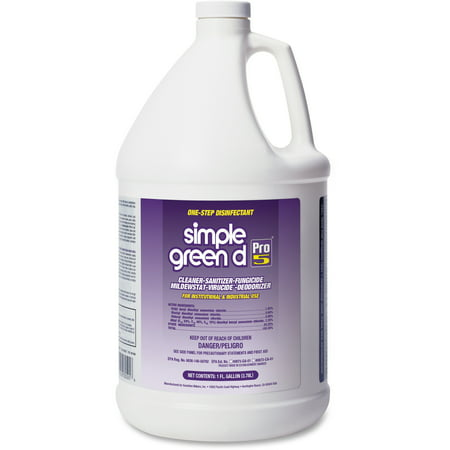 Simple Green, SMP30501, D Pro 5 One-Step Disinfectant, 1 Each,