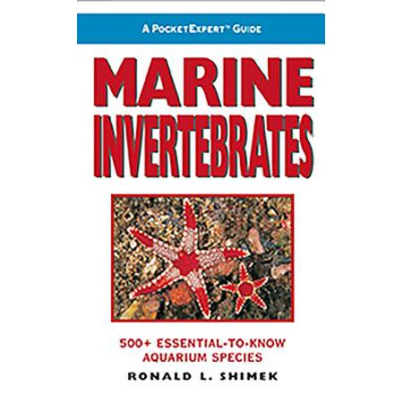 Marine Invertebrates : 500+ Essential-To-Know Aquarium Species