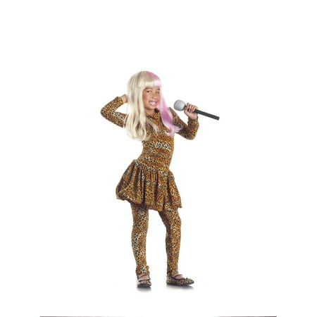 Leopard Rap Superstar Costume Child