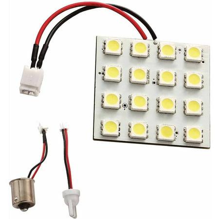 Green LongLife 12V LED Multi-2-Base Light Bulb with 921 Wedge and 1156/1141 Bases, 250 Lumens, Natural White 12v Ac Wedge Base
