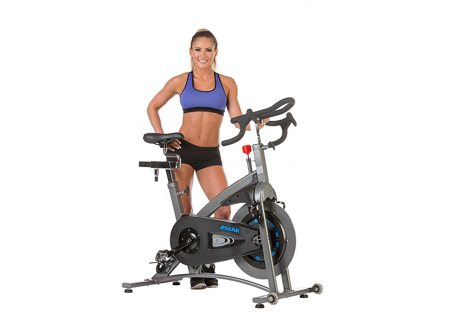 ASUNA Magnetic Belt Drive Commercial Indoor Cycling Trainer Exercise Bike 5100 by ASUNA