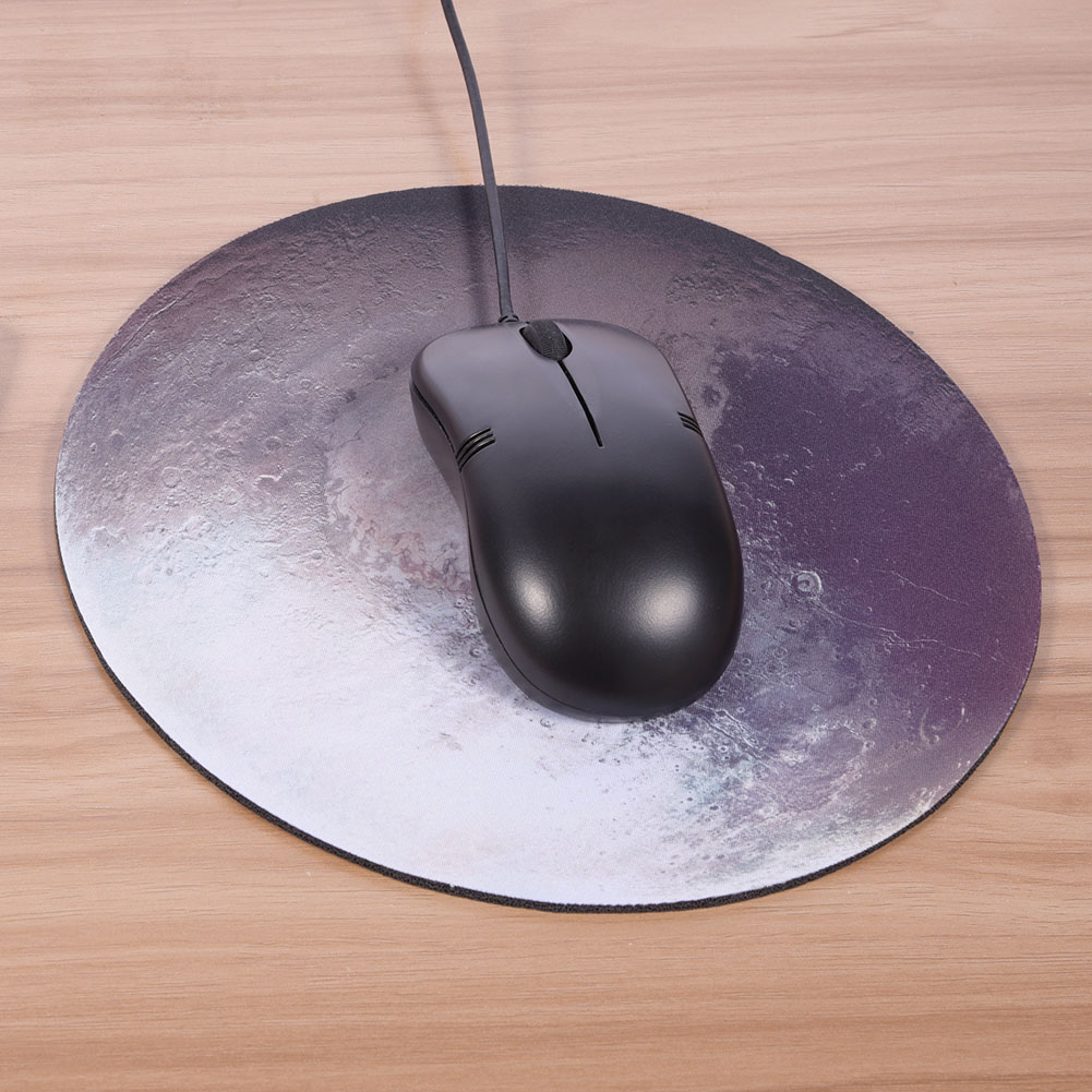 """Dilwe Mouse Pad, Mousepad,Soft Natural Rubber Planet Series Fashion Design Round Gaming Mouse Pad MousePad 8.66 ×8.66"""""""