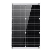 35W Solar Panel Monocrystalline with Battery Clip, Car Boat Motor Battery Charger Home Portable Solar Panel Generator Power 12V