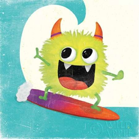 - Xtreme Monsters III Poster Print by Sarah Adams (12 x 12)