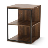 ab6ec4007618 Product Image Mainstays Kalla Wood and Metal 3 Shelf End Table