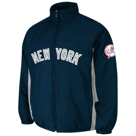 New York Yankees Majestic MLB On-Field Double Climate Therma Base Jacket by