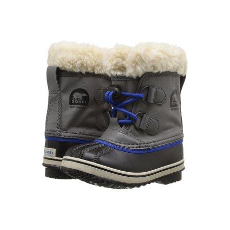 Sorel Children's Yoot Pac Nylon Cold Weather Boot City Grey 9 M US