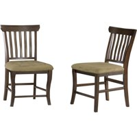 Venetian Dining Chair with Cappuccino - Antique Walnut