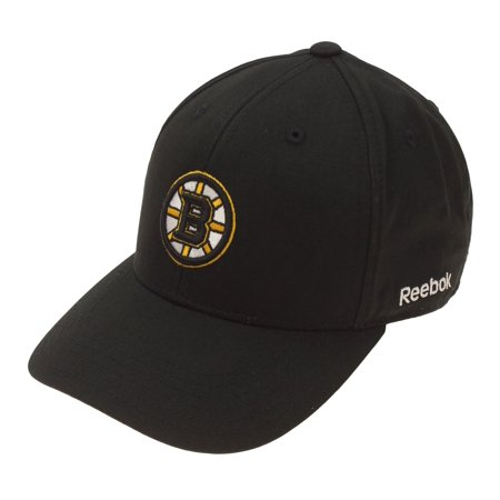 Reebok NHL Little Kids (4-7) Boston Bruins Basic Adjustable Hat, OSFM Reebok Boston Bruins Face