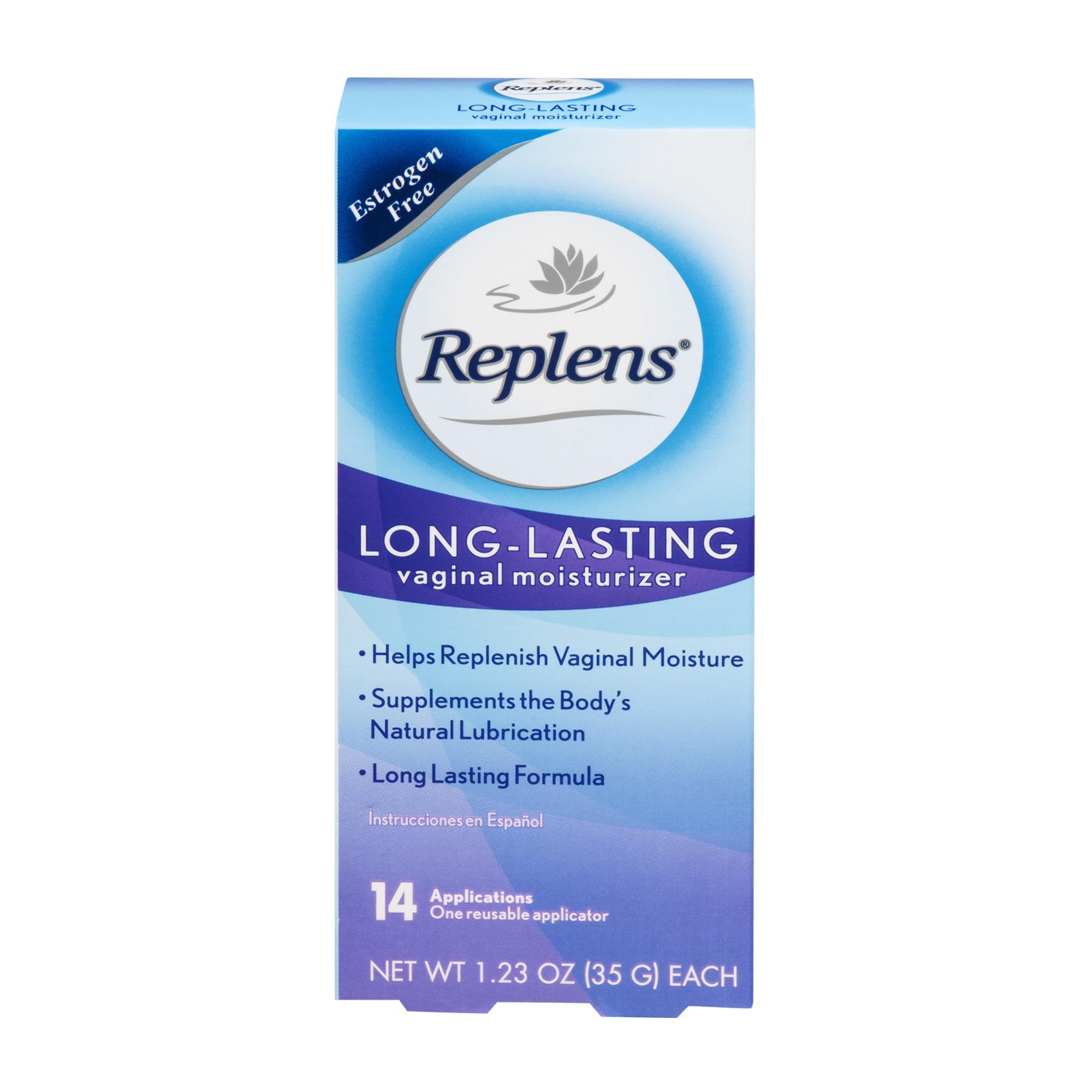 Replens Long Lasting Vaginal Moisturizer, 14ct