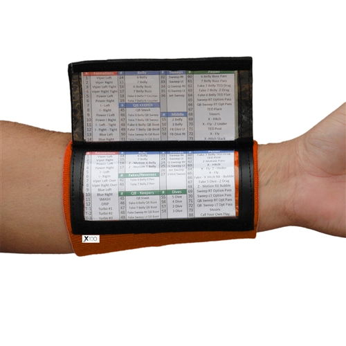 (10) Pack - Youth Playbook Wristbands Bundle - Royal
