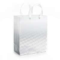 Hallmark Medium Gift Bag (Silver Foil Dots)