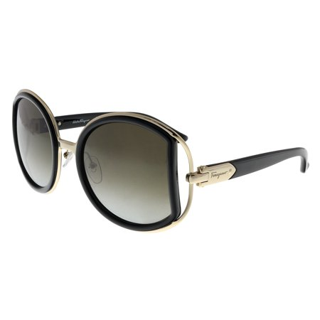 Salvatore Ferragamo Glasses (Salvatore Ferragamo SF719S 001 Black Round)
