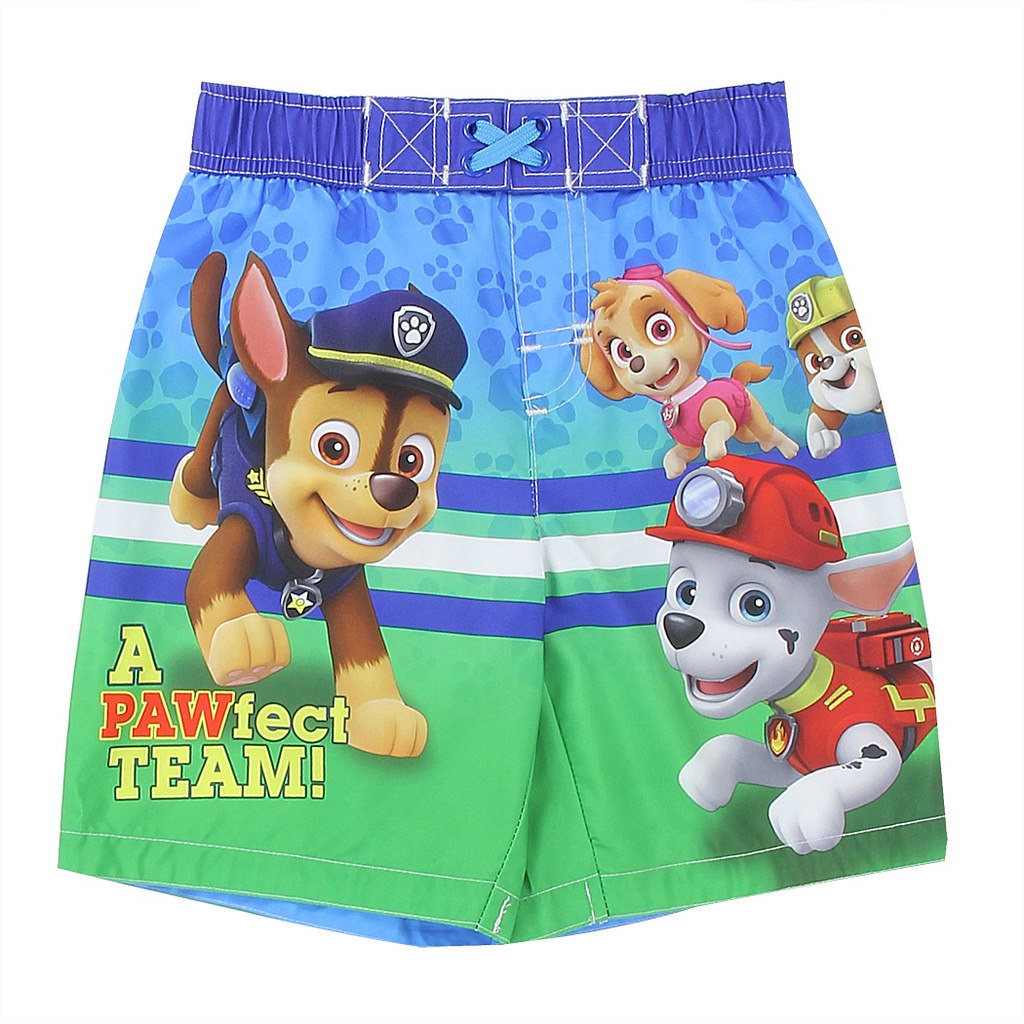 Paw Patrol Little Boys' Toddler Swim Trunks