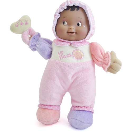 """JC Toys Berenguer 12"""" Lil' Hugs Baby Doll, African American"""