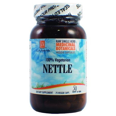 - L A Naturals Nettle Raw Herb, 75 Ct