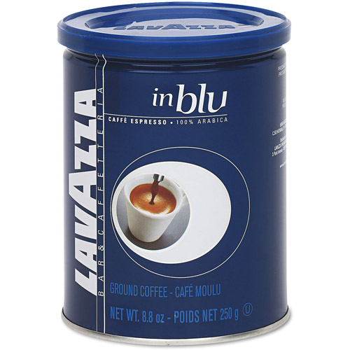 Lavazza Blue Ground Espresso Coffee, 8.8 oz